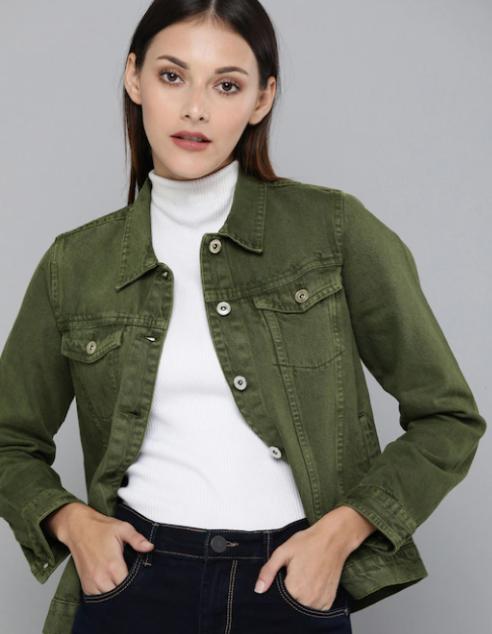 Women's Olive Jacket