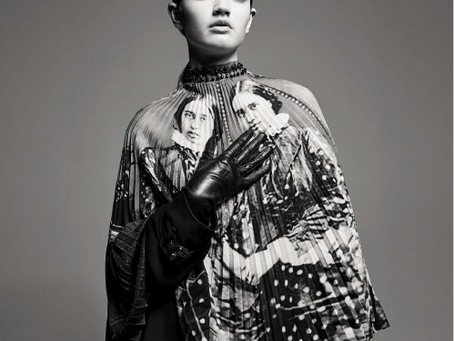 Zoé Lou for Vogue Italia by Willy van der Perre