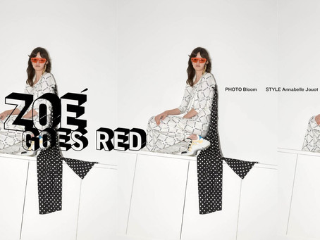 Zoé for Red Milk by Bloom Paris