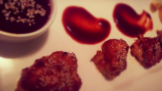 Tsukune, Japanese chicken meatballs