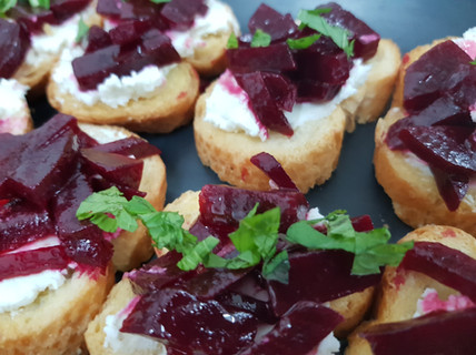 Beetroot and goats cheese crostini.jpg