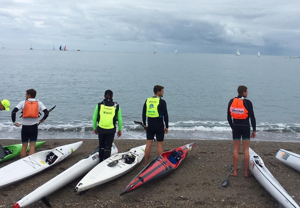 Picture from PaddleLife of startline