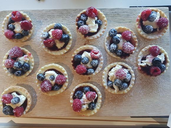 fresh fruit tarts