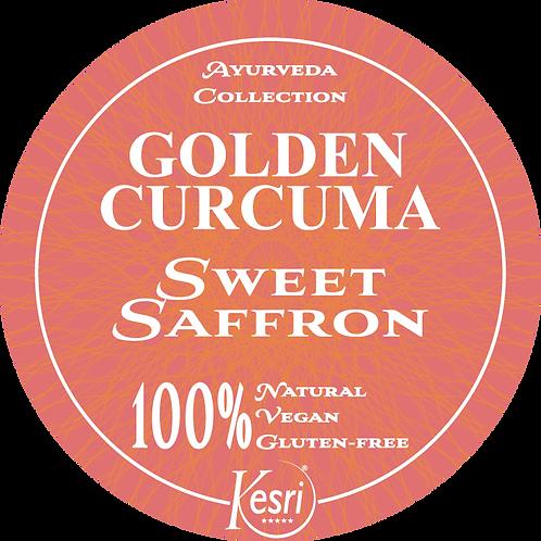 Golden Curcuma zafferano con zucchero di fiori di cocco