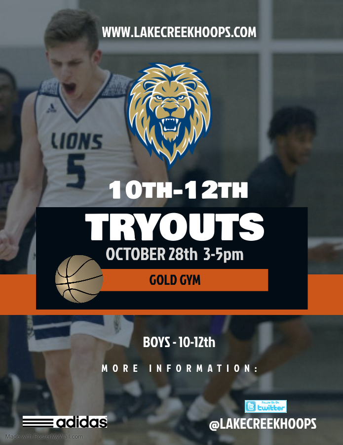 10-12th Tryouts