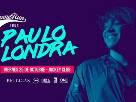 PAULO LONDRA EN LIMA - 25 DE OCTUBRE 2019