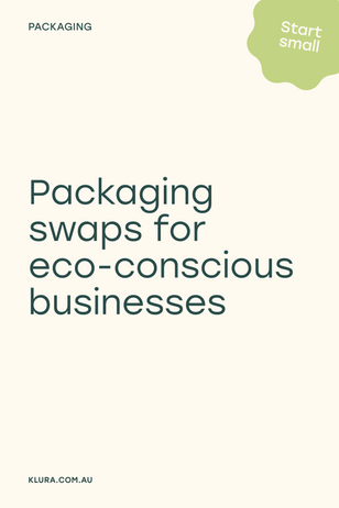 Packaging swaps for eco-conscious businesses