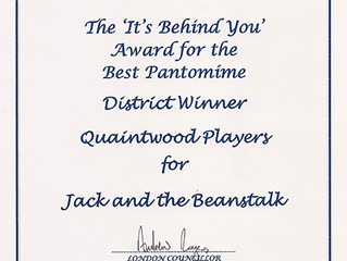 Award winning Panto!