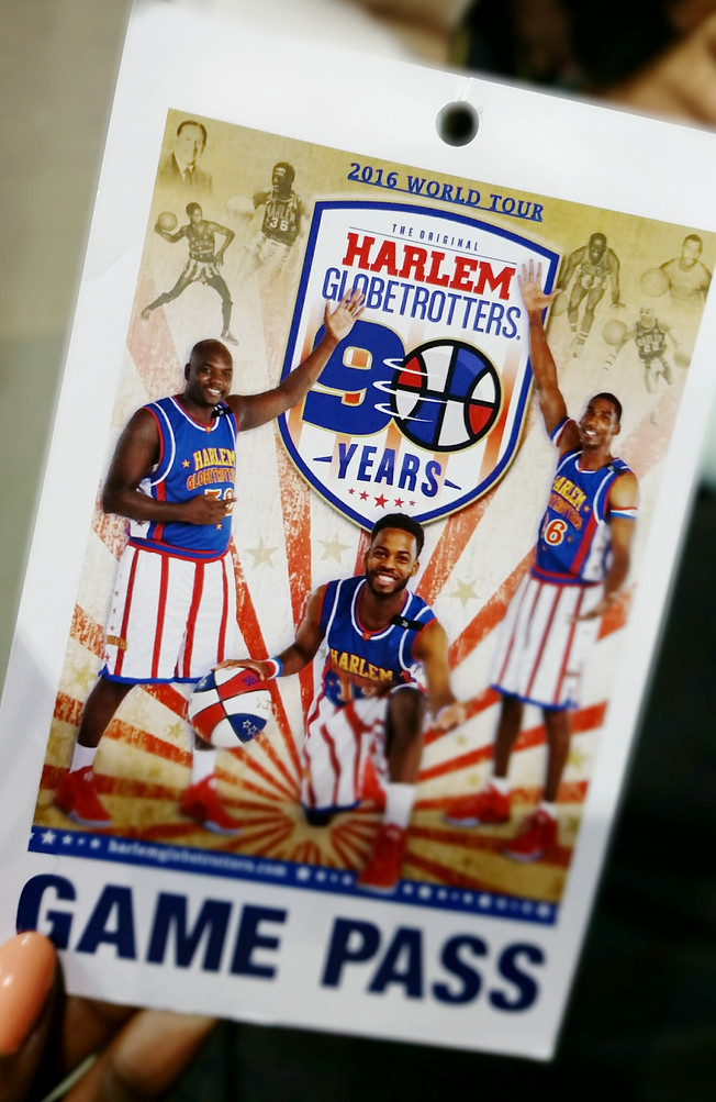 IN THE LOOP WITH THE HARLEM GLOBETROTTERS FOR THE RECORD–90TH ANNIVERSARY WORLD TOUR RECAP
