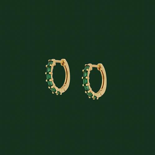 Zircon mini hoops - Beconcept