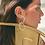 Thumbnail: Silver Baby Pearls Hoops