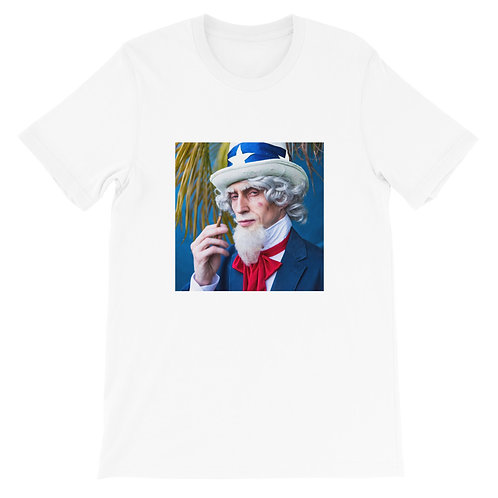 Uncle Sam Short-Sleeve Unisex T-Shirt
