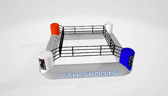 Inflatable boxing ring (opblaasbare boksring)