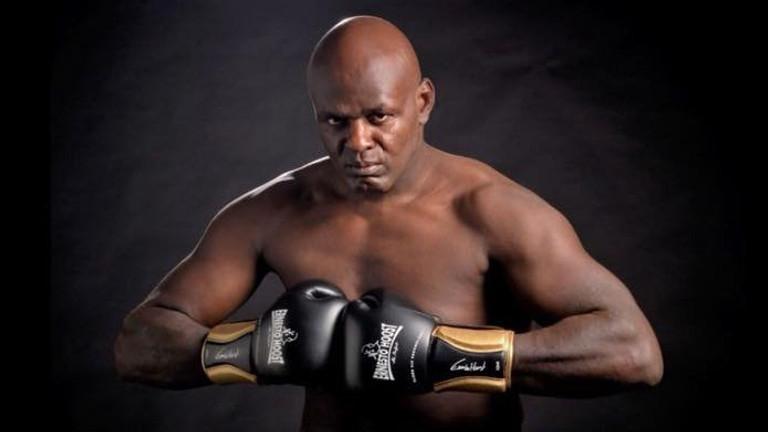 Ernesto Hoost kickbox clinic