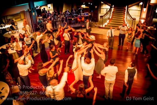 Time Productions DJ's Wedding At The Collingswood Grand Ballroom