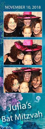 Bat Mitzvah Photo Strip