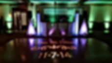 Time Productions DJ's At The Valenzano Winery With Custom Gobo, Uplighting & Moving Heads On Totem Truss