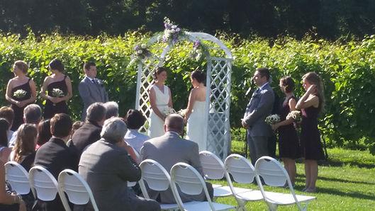 Time Productions DJ's same-sex wedding ceremony