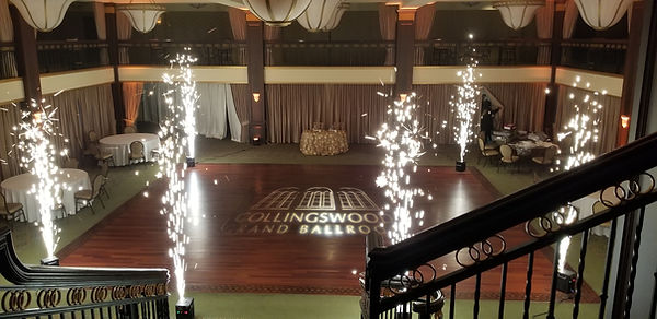 Cold Spark Fountains (Collingswood Grand Ballroom)