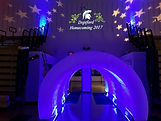 LED Inflatable Tunnel (Deptford High School Homecoming)