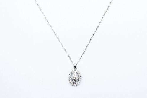 Crivelli. Colgante Madonna, de Diamantes y Oro Blanco.