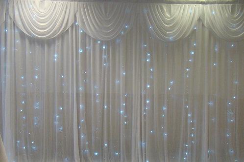 Fairylight 3 x 6m Backdrop Curtain