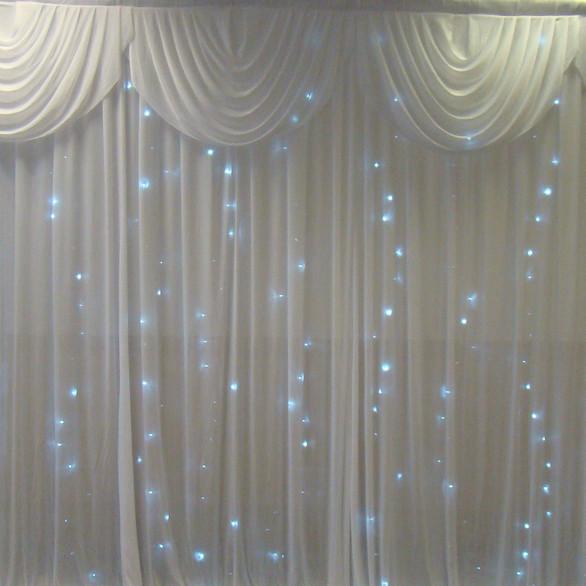 Our Fairylight backdrop curtain