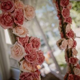 Signature Flowered Mirror