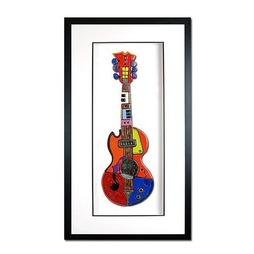 """"""" Colorful Guitar """"- $1200"""
