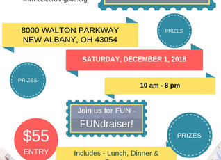 FUNdraiser December 1st event - 10 hour Scrapbooking CROP