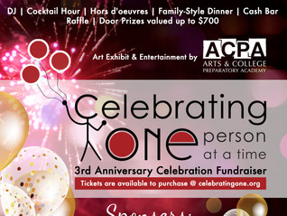 Join us at our 3rd Anniversary Celebration!