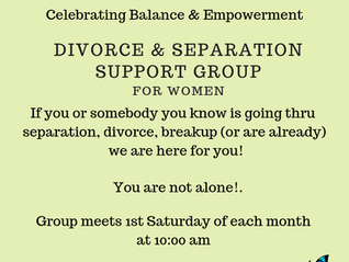 Celebrating Balance & Empowerment divorce & separation support group for women