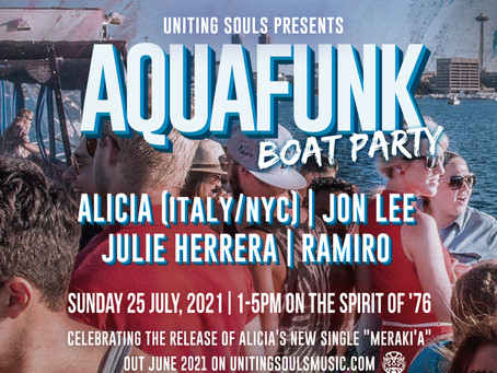Aquafunk Boat Party info (sold-out) - July 25, 2021