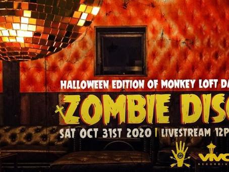 Viva, Hunt & Gather, USM & Monkey Loft Present Zombie Disco - Live Stream edition!