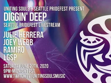 Diggin Deep - Live Streams!