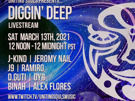 Look who's playing the USM Diggin Deep Livestream on March 13th!!!