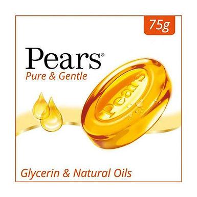Pears Pure & Gentle Bathing Bar, 100 g Carton