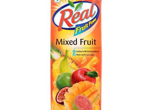 Mixed Fruit Juice-Real - 1 L