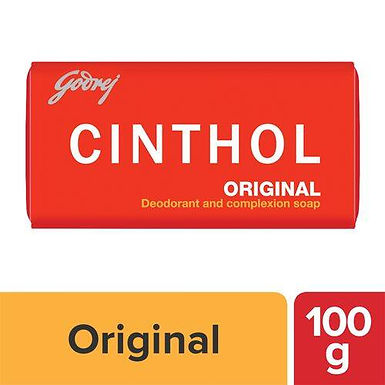 Cinthol Original Bath Soap, 100 g Carton