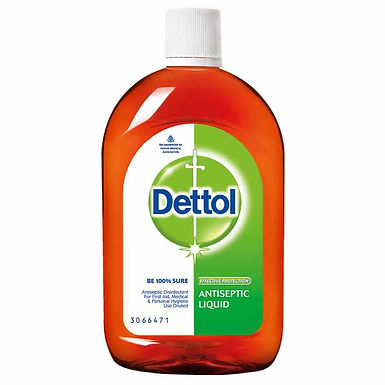 Dettol Antiseptic Disinfectant Liquid - For First Aid, Surface Cleaning, & Perso