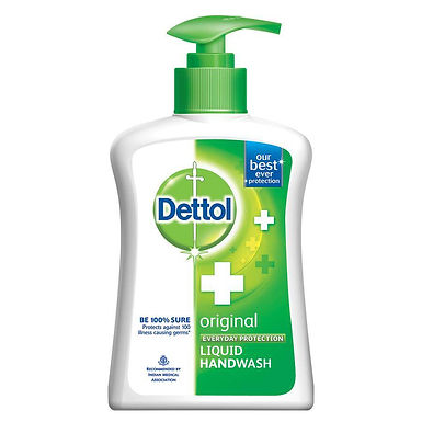 Dettol Original Hand Wash Liquid Pump 200 ml