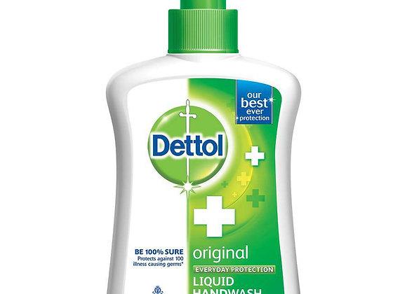 Dettol Original Hand Wash Liquid Pump 200 ml