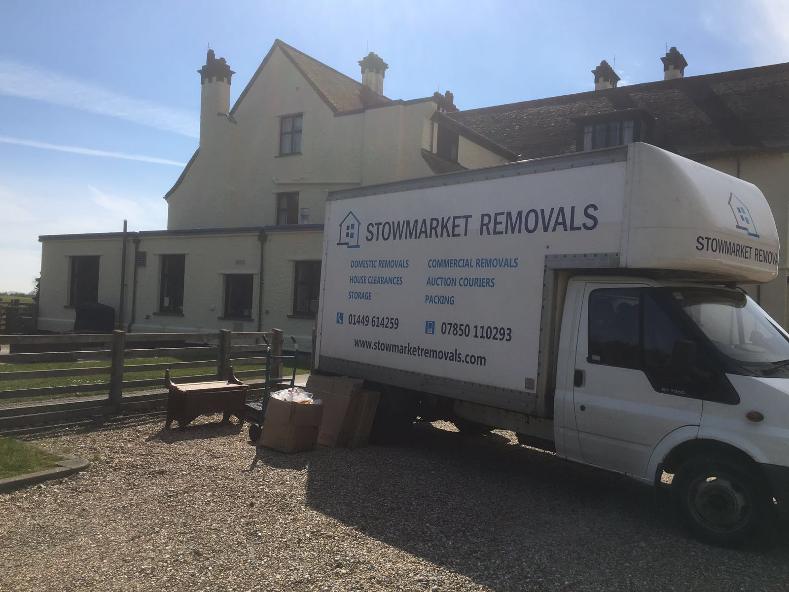 Removal for The National Trust