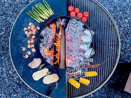 Grillen mit der Feuerkugel, der Feuerschale oder doch im Feuertisch?