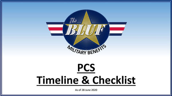 The PCS Timeline and Checklist Guide