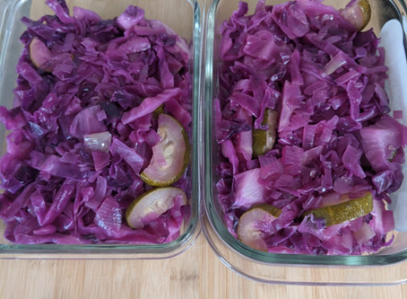 Sautéed Red Cabbage