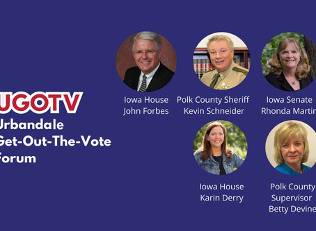Meet The Candidates Forum, Sep. 14, 5pm