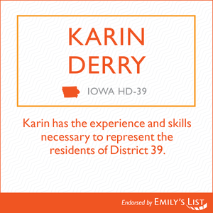 Emily's List Endorses Karin Derry