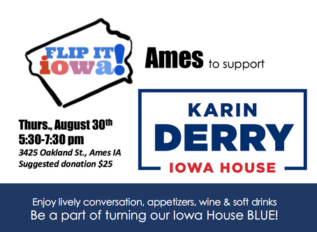 FLIP IT IOWA! for Karin Derry - Ames