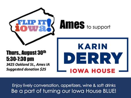 FLIP IT IOWA! for Karin Derry - Ames